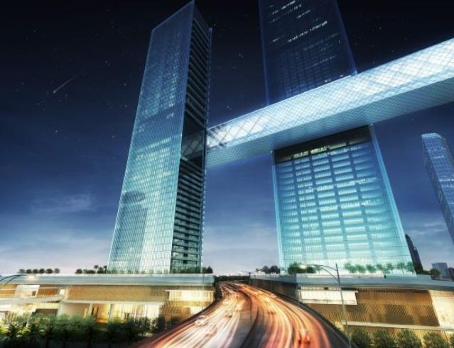 The Link: grattacielo orizzontale nello skyline di Dubai