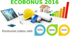 Ecobonus 2016: Confermate le agevolazioni fiscali